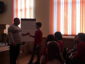 Среща с поета Иван Мишев